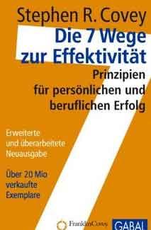 Steven Covey - 7 Wege zur Effektivität - Buchcover